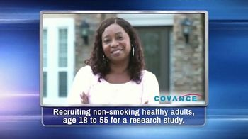 Covance Clinical Trials TV Spot, 'Non-Smoking Healthy Adults'