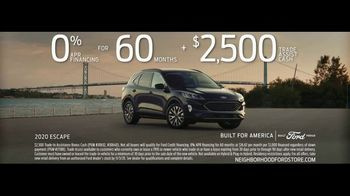 Ford TV Spot, 'Because of This: SUVs: Rain and Snow' [T2] - Thumbnail 9