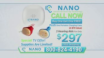 Nano CIC Recharge Hearing Aids TV Spot, \'Superior\'