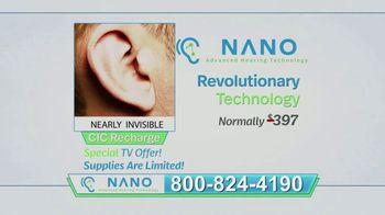 Nano CIC Recharge Hearing Aids TV Spot, 'Superior' - Thumbnail 3