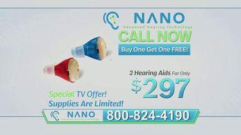 Nano CIC Recharge Hearing Aids TV Spot, 'Superior' - Thumbnail 6