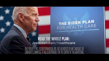 Future Forward USA Action TV Spot, 'The Biden Plan for Health Care' - Thumbnail 9