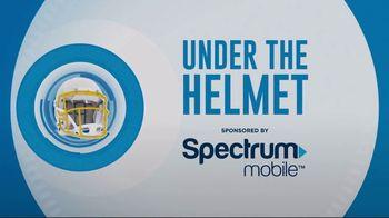 Spectrum Mobile TV Spot, 'Under the Helmet: Pregame Playlist' Feat. Mike Williams, Hunter Henry