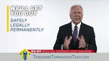 Timeshare Termination Team TV Spot, 'Costly Fees: 15% Off' - Thumbnail 4