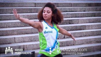 Kaiser Permanente TV Spot, 'World Mental Health Day: Virtual Yoga' - Thumbnail 1