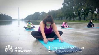 Kaiser Permanente TV Spot, 'World Mental Health Day: Virtual Yoga' - Thumbnail 2
