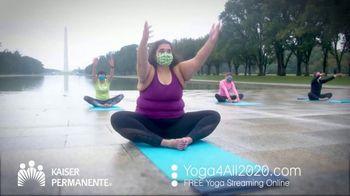 Kaiser Permanente TV Spot, 'World Mental Health Day: Virtual Yoga' - Thumbnail 3