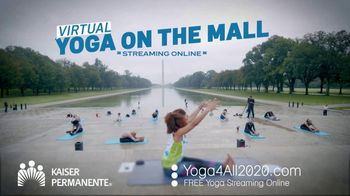 Kaiser Permanente TV Spot, 'World Mental Health Day: Virtual Yoga' - Thumbnail 6
