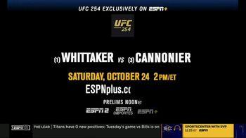 ESPN+ TV Spot, 'UFC 254: Whittaker vs. Cannonier' - Thumbnail 10