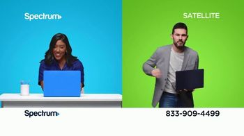 Spectrum Internet + TV TV Spot, 'Better Than Satellite: $44.99'