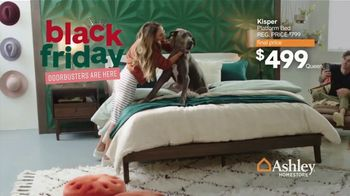Ashley HomeStore Black Friday Sale TV Spot, '55% Off Doorbusters: Tables Beds & Sofas' - Thumbnail 1