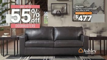 Ashley HomeStore Black Friday Sale TV Spot, '55% Off Doorbusters: Tables Beds & Sofas' - Thumbnail 3