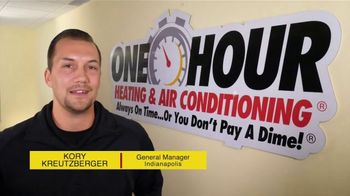 One Hour Heating & Air Conditioning TV Spot, 'HVAC Repair: $55 Off'