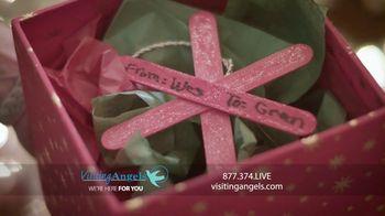 Visiting Angels TV Spot, 'Holidays: Safer at Home'