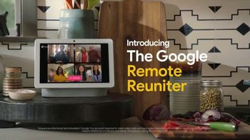 Google Nest Hub Max TV Spot, 'Thanksgiving: Remote Reuniter'