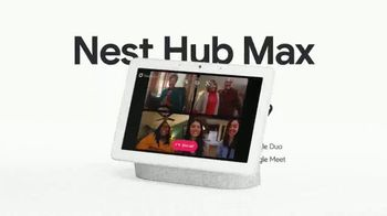 Google Nest Hub Max TV Spot, 'Thanksgiving: Remote Reuniter' - Thumbnail 6