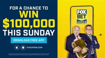 FOX Bet Super 6 TV Spot, 'Win $100,000 of Terry's Money: Twin Howies' Featuring Terry Bradshaw and Howie Long - Thumbnail 9