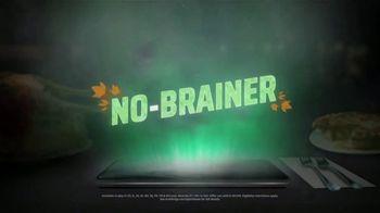 DraftKings Casino Queen Sportsbook TV Spot, 'Thanksgiving: No Brainer'