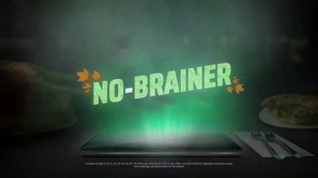 DraftKings Casino Queen Sportsbook TV Spot, 'Thanksgiving: No Brainer' - Thumbnail 2