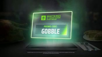 DraftKings Casino Queen Sportsbook TV Spot, 'Thanksgiving: No Brainer' - Thumbnail 3