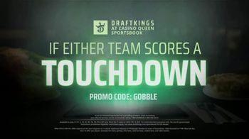 DraftKings Casino Queen Sportsbook TV Spot, 'Thanksgiving: No Brainer' - Thumbnail 5