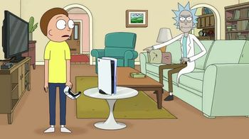 PlayStation 5 TV Spot, 'Adult Swim: Rick and Morty x PlayStation 5 Console' - Thumbnail 10