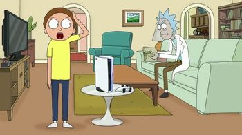 PlayStation 5 TV Spot, 'Adult Swim: Rick and Morty x PlayStation 5 Console' - Thumbnail 2