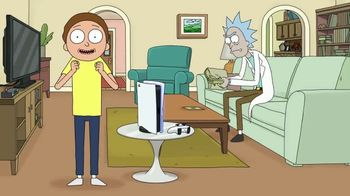 PlayStation 5 TV Spot, 'Adult Swim: Rick and Morty x PlayStation 5 Console' - Thumbnail 4