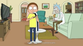 PlayStation 5 TV Spot, 'Adult Swim: Rick and Morty x PlayStation 5 Console' - Thumbnail 6