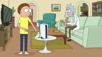 PlayStation 5 TV Spot, 'Adult Swim: Rick and Morty x PlayStation 5 Console' - Thumbnail 9