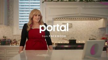 Portal from Facebook TV Spot, 'Portal Holiday: Baking With Rebel Wilson: No Offer' - 93 commercial airings