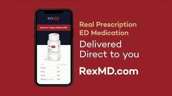 REX MD TV Spot, 'Prescription ED Medication Delivered'