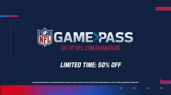 NFL Game Pass TV Spot, 'Full Replays: 50% Off' - Thumbnail 10