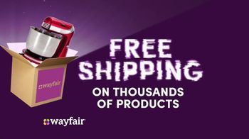 Wayfair TV Spot, 'Cyber Monday: Area Rugs, Living Room Seating and GE Appliances' - Thumbnail 6