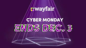 Wayfair TV Spot, 'Cyber Monday: Area Rugs, Living Room Seating and GE Appliances' - Thumbnail 8