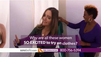 Sono Bello Employee Only Pricing TV Spot, 'Trying On Clothes' Featuring Andrew Ordon - Thumbnail 1