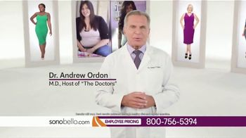 Sono Bello Employee Only Pricing TV Spot, 'Trying On Clothes' Featuring Andrew Ordon - Thumbnail 4