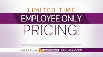 Sono Bello Employee Only Pricing TV Spot, 'Trying On Clothes' Featuring Andrew Ordon - Thumbnail 8