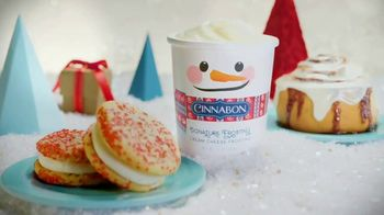 Cinnabon Signature Frosting TV Spot, 'Freeform: Tuning in With Frosting-Filled Baked Goods'