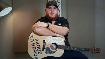 Ford Proud to Honor TV Spot, 'Unwavering Commitment' Featuring Luke Combs [T1]