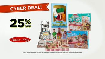 Kohl's Cyber Deal Days TV Spot, 'Sweaters, Shark Vacuums and Melissa & Doug Toys' - Thumbnail 5