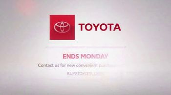 Toyota Mission: Incredible Sales Event TV Spot, 'Hurry In: Highlander' [T2] - Thumbnail 10