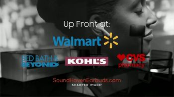 Sharper Image Sound Haven Earbuds TV Spot, 'Busy Active People' - Thumbnail 10