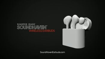 Sharper Image Sound Haven Earbuds TV Spot, 'Busy Active People' - Thumbnail 9