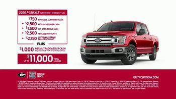 2020 Ford F-150 TV Spot, 'Georgia Bulldogs: Starting Quarterback' Featuring Kirby Smart [T2] - Thumbnail 8
