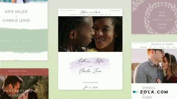 Zola TV Spot, 'Share Wedding Details With Wedding Guests' - Thumbnail 4
