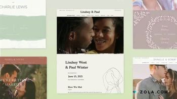 Zola TV Spot, 'Share Wedding Details With Wedding Guests' - Thumbnail 5