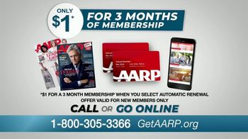 AARP Services, Inc. TV Spot, 'Never Been a Better Time: $1 for Three Months' - Thumbnail 10