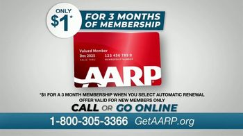 AARP Services, Inc. TV Spot, 'Never Been a Better Time: $1 for Three Months' - Thumbnail 5