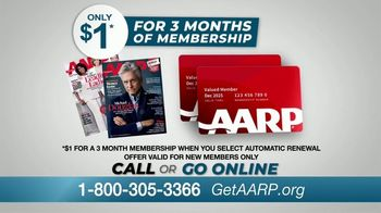 AARP Services, Inc. TV Spot, 'Never Been a Better Time: $1 for Three Months' - Thumbnail 6